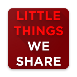 #little things we share